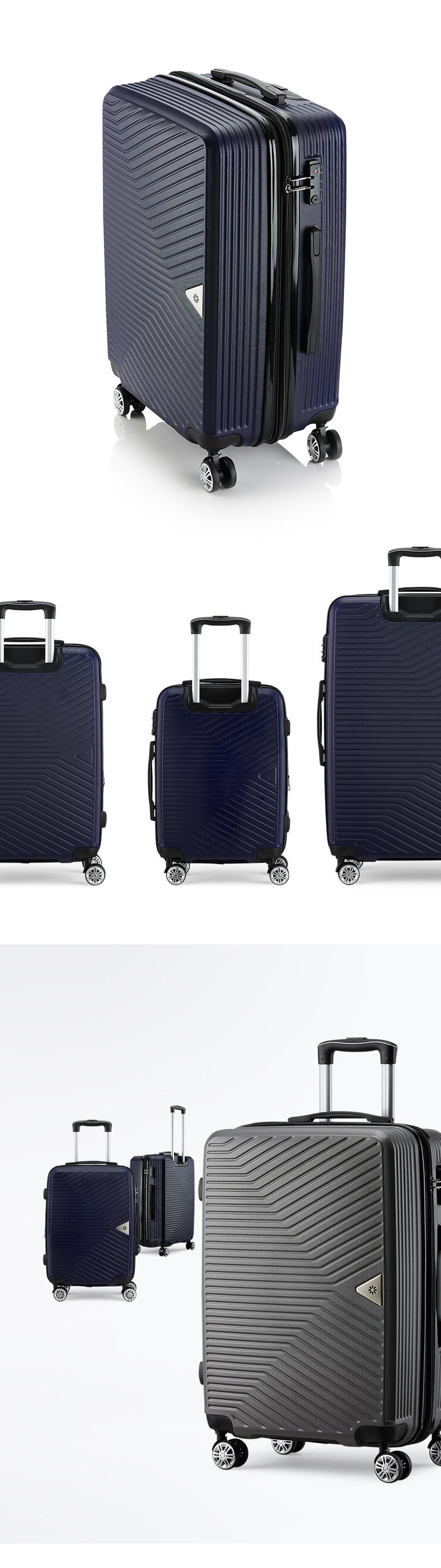 브라이튼 콜딘 24인치 중형 여행용캐리어 여행가방 화물용 케리어 - 브라이튼, 49,900원, 하드형, 대형(25형) 이상